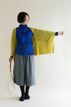 着物の袖をイメージした羽織