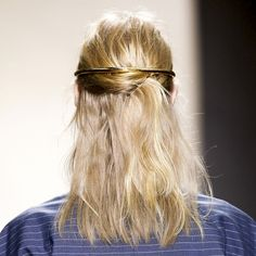 Le Fashion Blog Balenciaga SS 2013 Romantic Blonde Haircolor Half Updo Gold Halo Hair Piece Wedding Bridal Inspiration photo Le-Fashion-Blog-Balenciaga-SS-2013-Romantic-Blonde-Haircolor-Half-Updo-Gold-Halo-Hair-Piece-Wedding-Bridal-Inspiration.jpg