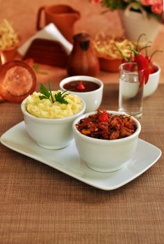 Escondidinho de Carne Seca | Flickr –   #recipe #brasil #nordeste #pernambuco #gourmet #food #receita #brazil  #photo #fotografia #photography http://www.behance.net/gallery/Trabalho-Academico-Cachaca-Cordel/12999929