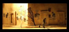 Waiting for Godot by Samuel Beckett. Set Design by Jennifer Nweke