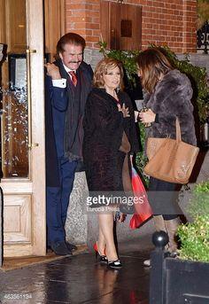 Fotografía de noticias : Maria Teresa Campos and Bigote Arrocet are seen...