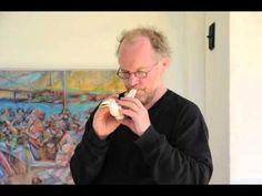 Summertime - Dag Hultcrantz playing one of his ocarinas, a design called Värmlandskråkan