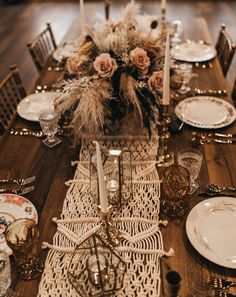 Rustic Bohemian Outdoor Wedding Inspiration