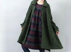 Loose Fit Winter Lang Topcoat-18  von MissJuan auf DaWanda.com