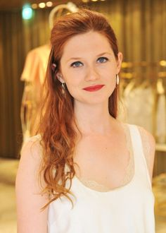 Bonnie Wright - gotta have some ginger in the mix