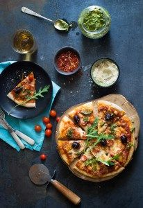 Whole wheat margharita pizza