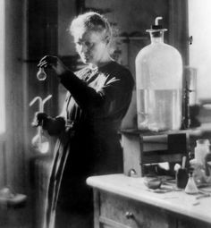 Madame Marie Curie. The only person to hold two Nobel Prizes is a woman. Marie Curie was honored for her work in both Physics & Chemistry and her pioneering research in radioactivity changed history. She has always been a HERO of mine!