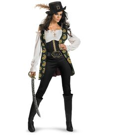 Pirates Of The Caribbean - Angelica Deluxe Adult Costume from BuyCostumes.com
