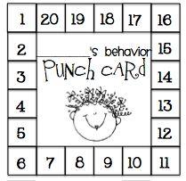 Great to encourage good behavior!