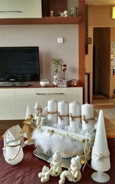 #christmas #decor #whitechristmas