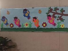 bird bulletin board   funnycrafts