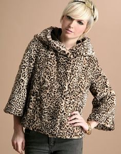 a leopard print coat is every woman's  must have!