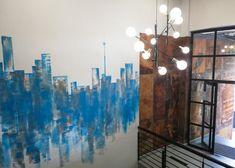 158 JAN SMUTS – Schematic Design Schematic Design, Ground Floor, Wall Murals, Pendant Lighting, Design Elements, Signage, Modern, Projects, Painting