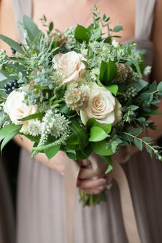 Gorgeous bouquet: http://www.stylemepretty.com/new-jersey-weddings/2015/04/17/elegant-new-jersey-fall-wedding/ | Photography: Twah Dougherty - http://twahdougherty.com/