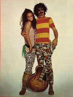 Claudia Cardinale & Frank Zappa