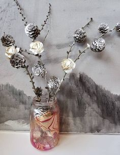 Spring Flowers | Pine Cone Projects To DIY This Fall