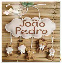 Enfeite De Porta Maternidade - Menino (tipo Pendurialho) - R$ 79,90