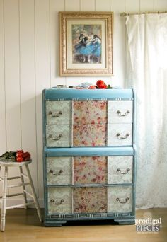Dumpster Diva Boho Dresser by Prodigal Pieces blog