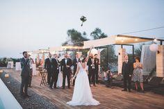 Romantic Mallorca wedding and a Rosa Clara Dress