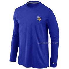 http://www.xjersey.com/minnesota-vikings-logo-long-sleeve-tshirt-blue.html Only$30.00 MINNESOTA VI#KINGS LOGO LONG SLEEVE T-SHIRT BLUE Free Shipping!