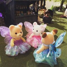 Quick and easy fairy costume  妖精のコスチューム  #シルバニア #ミニチュア #コスチューム #妖精 #シルバニアファミリー #ハロウィン #ドールハウス #ドール #ジオラマ #森林家族 #sylvanianfamilies #calicocritter #calicocritters #miniatures #dollhouse #diorama #halloween #costumes #fairy #dolls