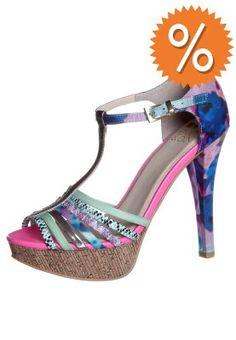 Even&Odd High Heel Sandalette aqua