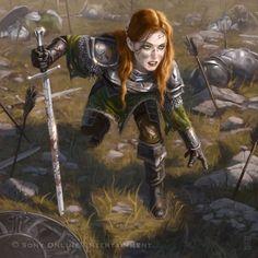 High Fantasy, Fantasy Rpg, Medieval Fantasy, Fantasy Artwork, Dnd Characters, Fantasy Characters, Female Characters, Fictional Characters, Character Concept