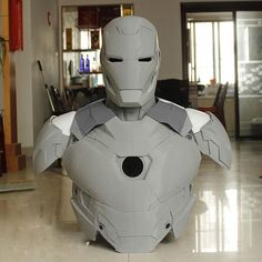 Iron Man Statue Printed Iron Man / Full Body Armors for Display Only 3d Printing Business, 3d Printing Diy, Iron Man Suit, Iron Man Armor, Suit Of Armor, Body Armor, Iron Man Cosplay, 3d Printing Machine, Batman Cosplay