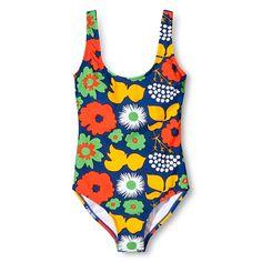 Women s One Piece Swimsuit - Kukkatori Print - Primary Floral Swimsuit, One  Piece For Women 12cd3bb664