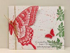 Stamping to Share: Stamping to Share Swap Cards - Flowers and Butterflies - Part Four