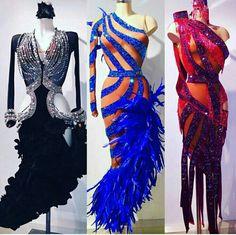 Love the blue dress! #BallroomDance #dancesport #ballroomdresses #latin #rhythm