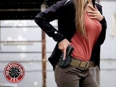 Course for women - Safety and handling of weapons Weapons, Safety, Leather Jacket, Jackets, Women, Fashion, Weapons Guns, Security Guard, Studded Leather Jacket