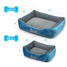 Fluffy Paws Pet Lounger Pet Bed Premium Bedding with Super Soft Padding and AntiSkid Bottom for Dogs and Cats [Lightweight SelfWarming] Blue Large 31 x 25 x 8 -- Click picture to assess even more information. (This is an affiliate link). Puppy Beds, Pet Beds, Cat Cave Crochet Pattern, Leather Cat Collars, Diy Dog Bed, Small Dog Clothes, Baby Sewing Projects, Pet Boutique, Cat Accessories