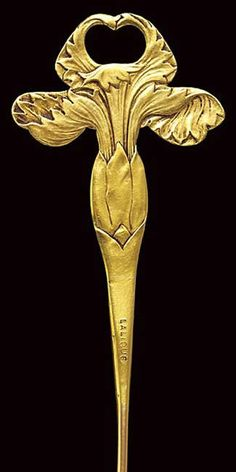 Rene Lalique Dragonfly Woman Stickpin