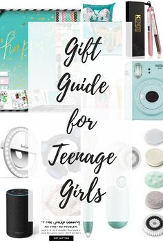 Ultimate gift guide for teenage girls!  Let us help take the stress out of your holiday shopping for the picky teenage girl!