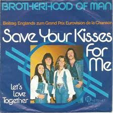 """Brotherhood of Man - """"Save Your Kisses For Me"""", the winning song of the Eurovision Song Contest 1976 from the United Kingdom (german release) 1980s Childhood, My Childhood Memories, Sweet Memories, Dance Routines, We Are Young, Teenage Years, Do You Remember, My Memory, The Good Old Days"""