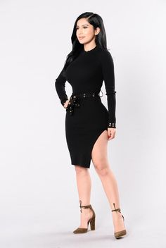 Want It Now Dress - Black