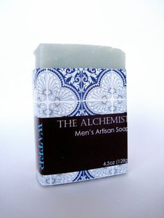Men's Alchemist Artisan Soap  WATER by TheOliveTreeSoapCo on Etsy, $6.50