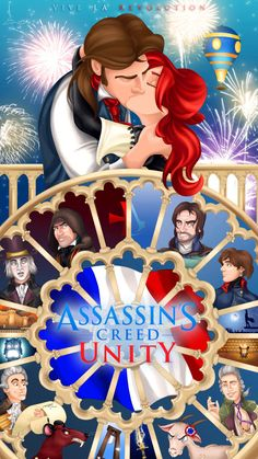 Assassin's Creed: Unity Poster by imajanaeshun