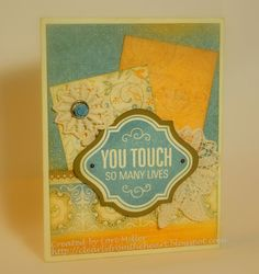 Florentine card - #CTMH, #cards