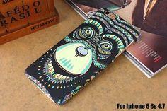 Hot Luminous Embossed Feel Aztec Animal Elephant Chimpanzee Cat Deer Phone Funda Case for Iphone 5 5S SE 6s 6 Plus Capa Para