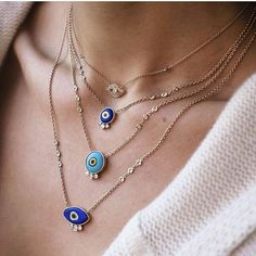 1,023 mentions J'aime, 8 commentaires – Barirah (@barirahmaddi) sur Instagram : « Which layer is your favourite evil eye ???omg! Buy this jewellery @millojewelry Go follow… »