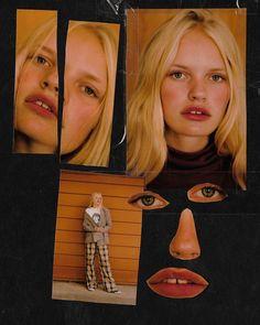 Rosanna Jones, Portrait Poses, Portraits, Collage Book, Magazine Collage, Art Folder, Photo Texture, Cool Poses, Abstract Portrait