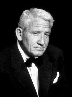 Spencer Bonaventure Tracy fue un actor estadounidense ganador de los premios Óscar y Globo de Oro.