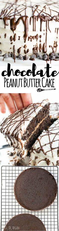 The only Gluten-Free Chocolate Cake recipe you'll ever need with this three…