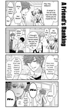 Gekkan Shoujo Nozaki-Kun 19 Page 2...Mikorin U hopeless cutie