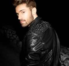Leather Jacket Outfits, Leather Jackets, Greek Men, Belstaff, Sexy Men, Sexy Guys, Leather Men, Handsome, How To Wear