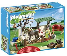 Playmobil 5225 Country Poany Farm Horse and Pony Care Station Play Mobile, Building For Kids, Building Toys, Playmobil Country, Toys For Boys, Kids Toys, Collection Playmobil, Black Friday Specials, Deep Sea Fishing