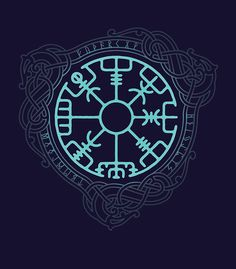 Compás de Viking. runa Brun. Dedicado Brunhilde y para todos los que van en el mar. • Buy this artwork on apparel, stickers, phone cases y more.
