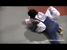 Back Triangle Choke from Side Mount - Brazilian Jiu Jitsu